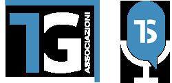 logo TG RADIO bianco azzurro 250px - semplice